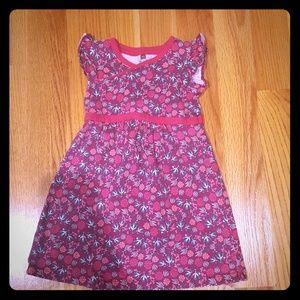 Little girls size 4 Tea dress